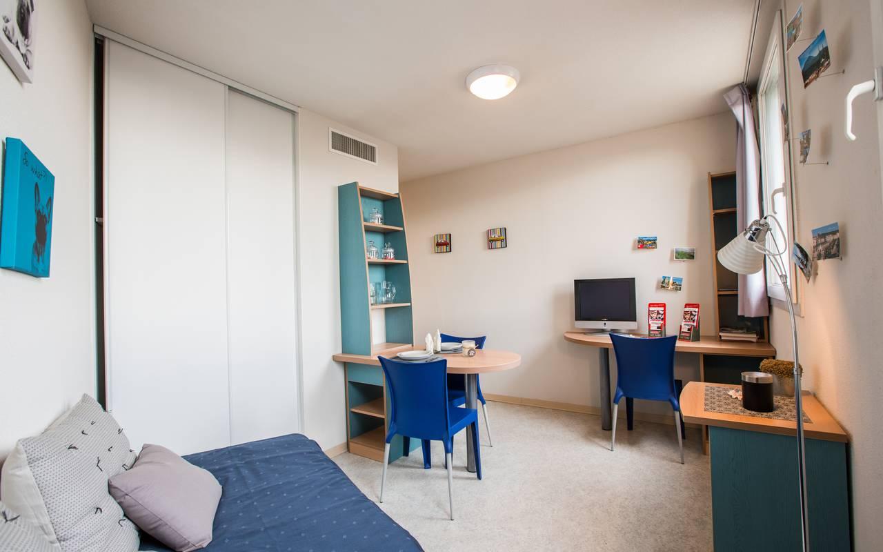 residence suiteasy clermont ferrand le parc belvedere studio piece a vivre