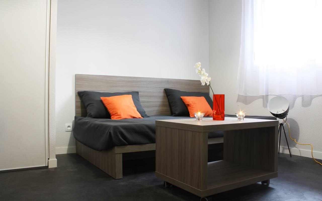residence suiteasy omega rouen t1 mezzanine salon