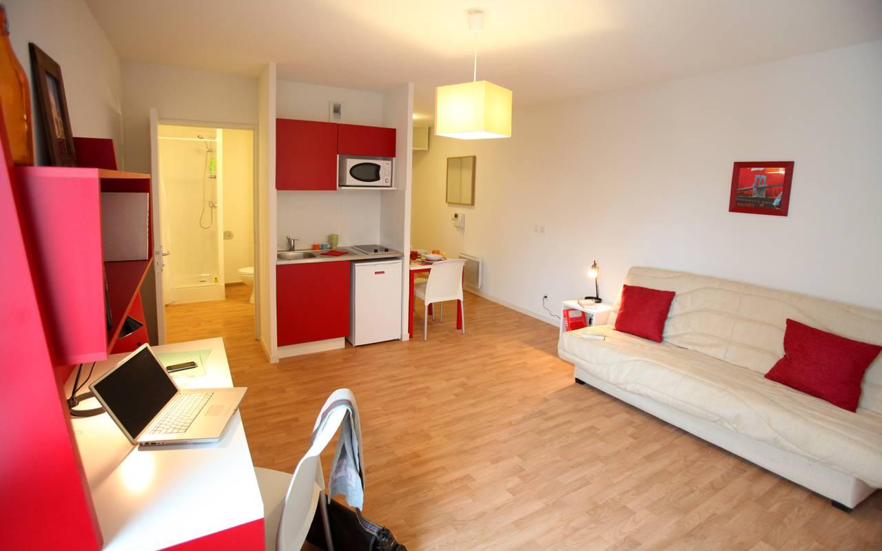 suitetudes residence suiteasy andromaque villeurbanne studio