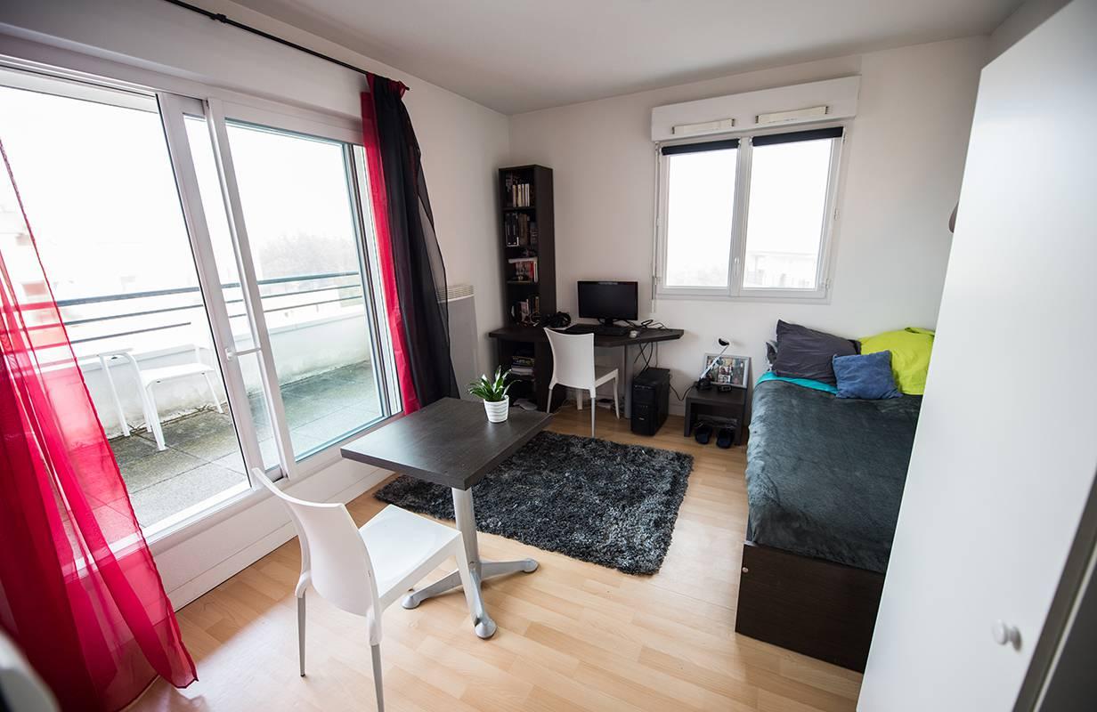 residence suiteasy einstein 2 nantes studio terrasse