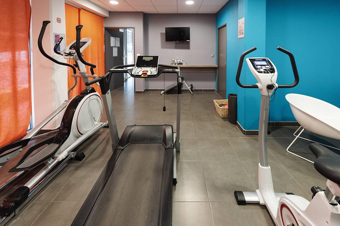 residence suiteasy h2o la rochelle salle de fitness
