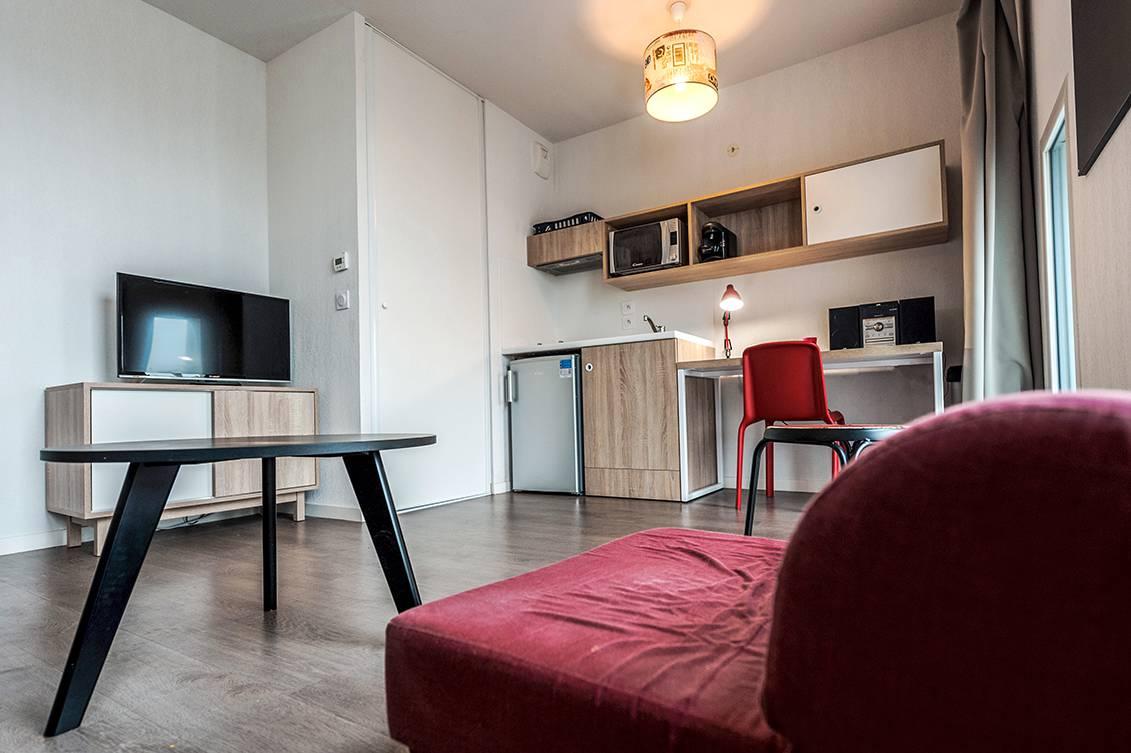 residence suiteasy h2o la rochelle studio economique