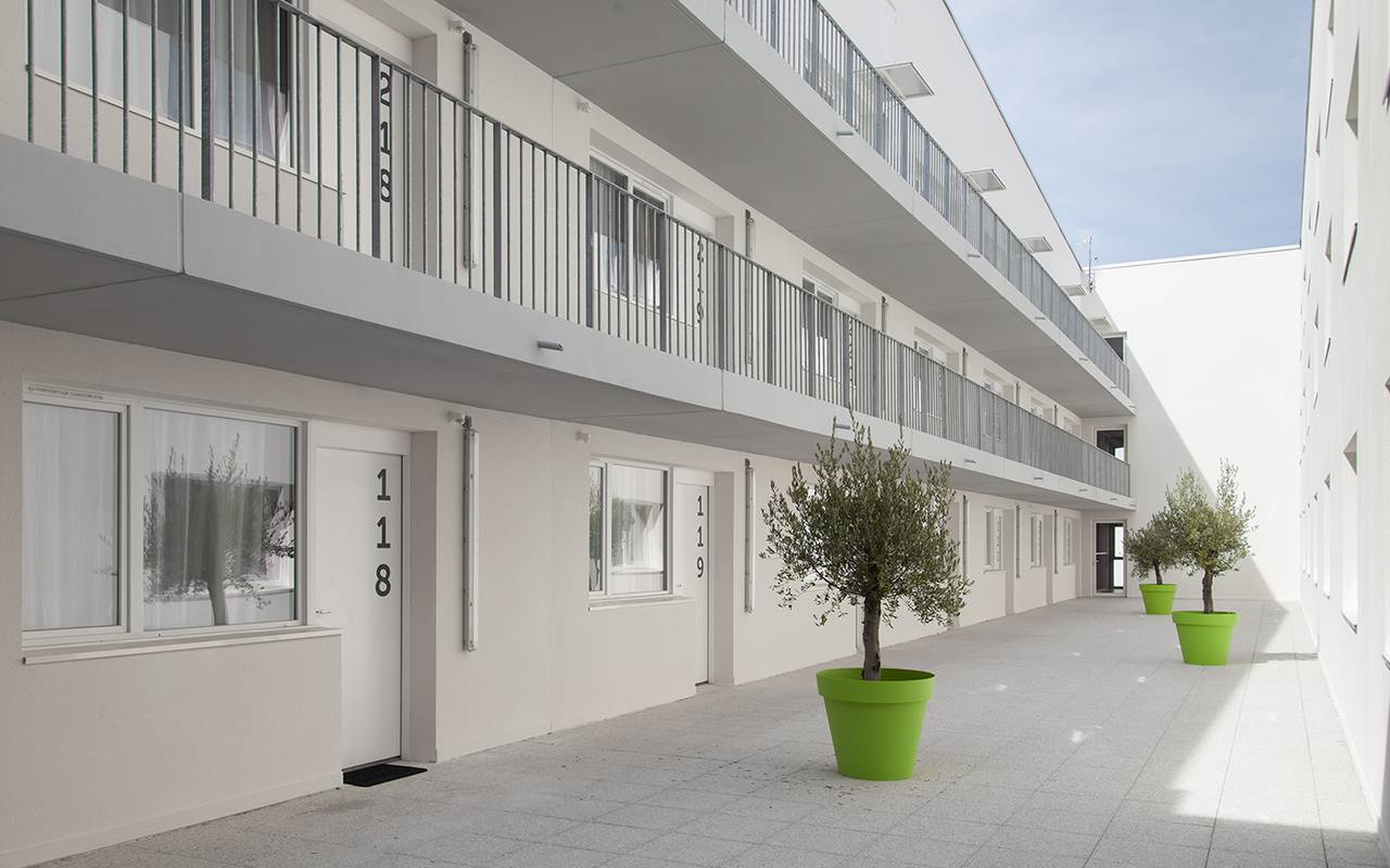 residence suiteasy h2o la rochelle cour int~rieure