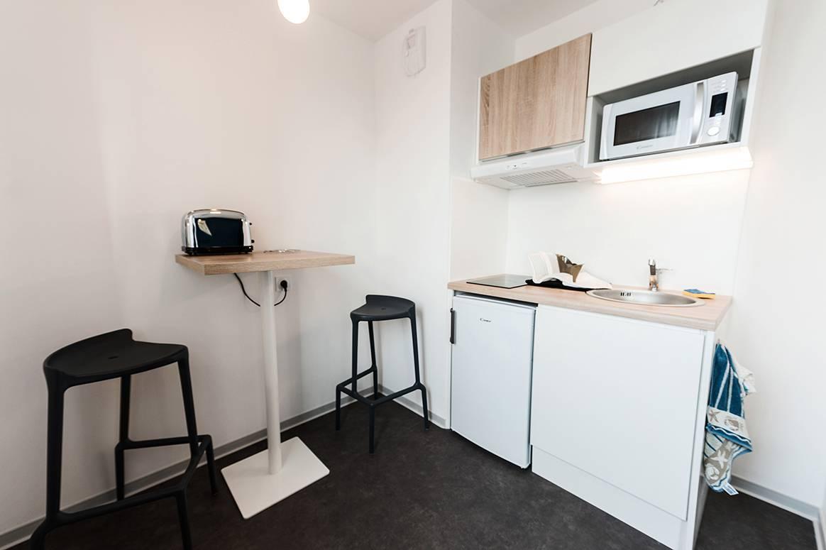 residence suiteasy metropolis rennes appartement economique kitchenette