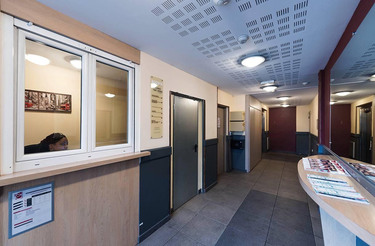 residence suiteasy parc avenue annemasse parties communes accueil