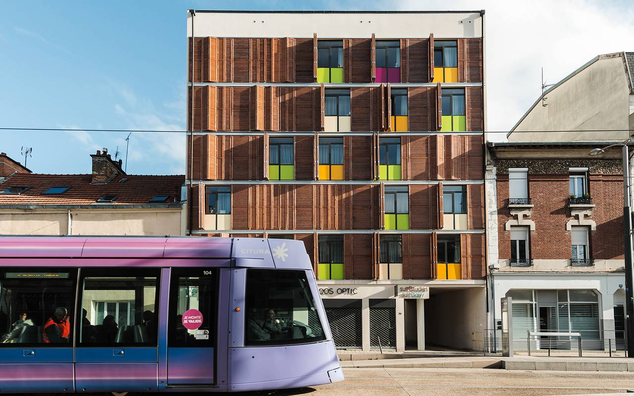 residence suiteasy sigma reims exterieur tramway