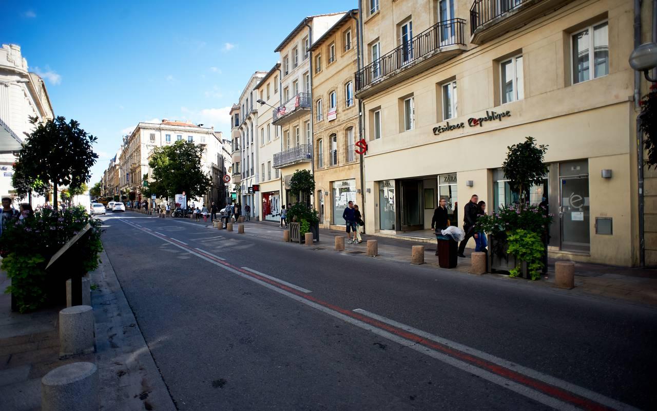 extérieur résidence location séjour à Avignon