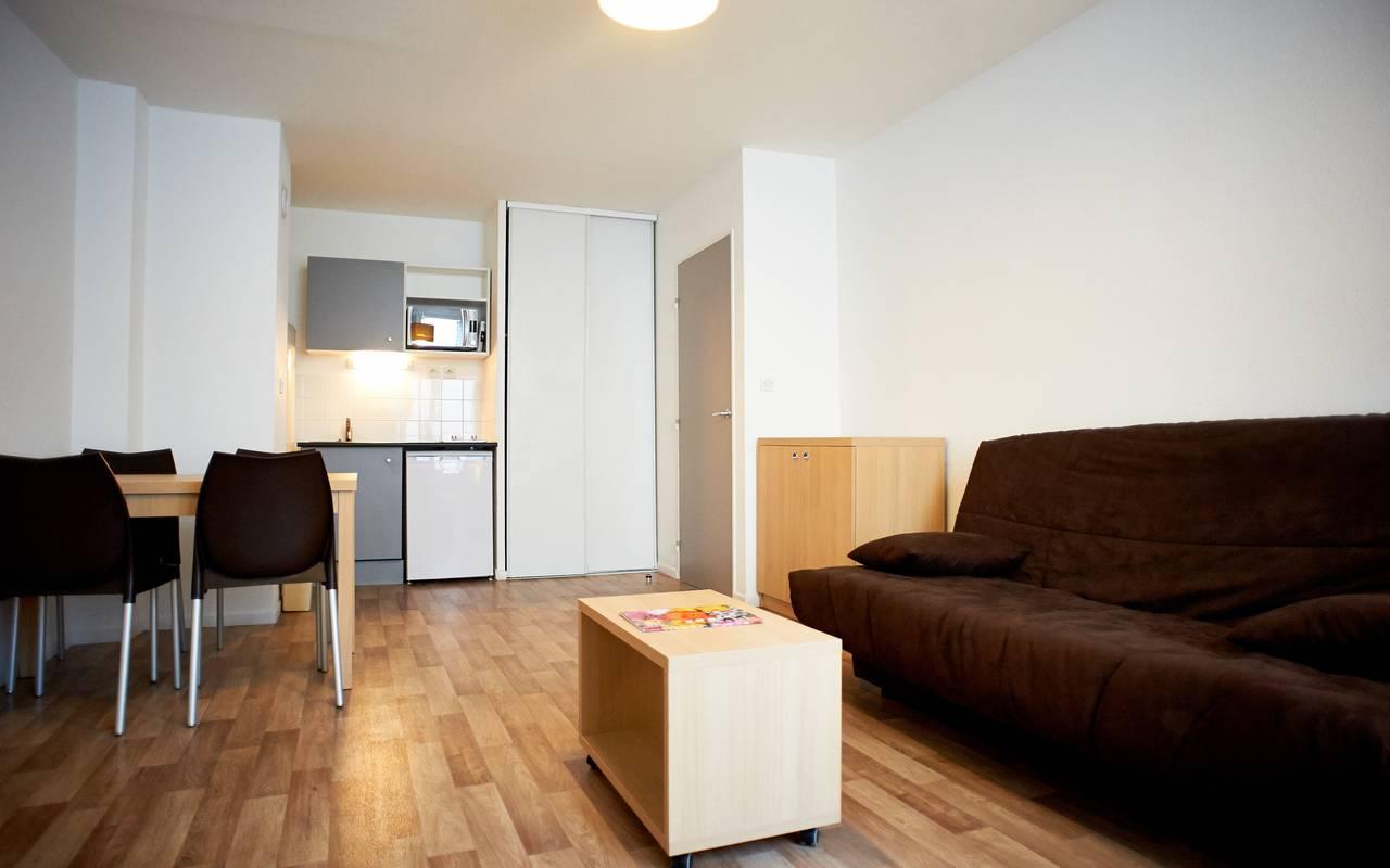salon appartement location saisonnière à Avignon