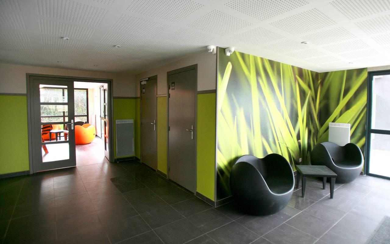 salle détente résidence location moyen séjour à Valenciennes