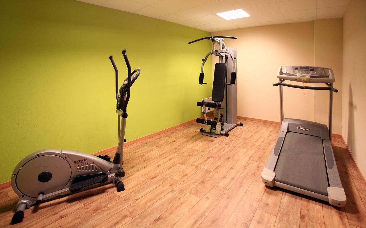 salle de fitness résidence location saisonnière à Béziers