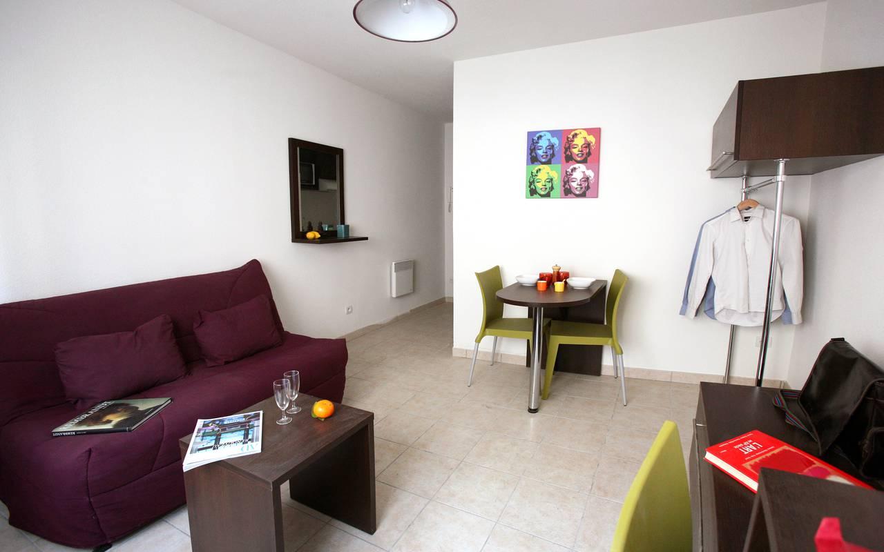 studio location moyen séjour à Béziers