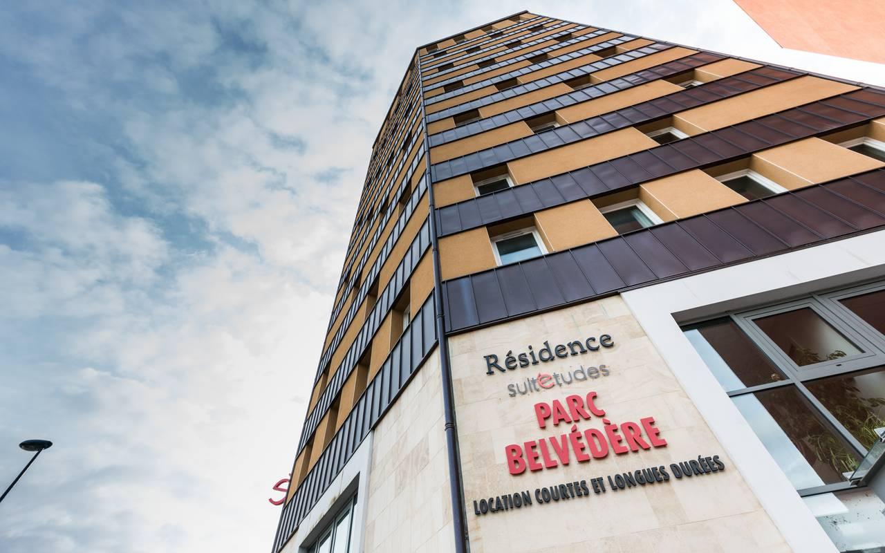 façade résidence location séjour Clermont Ferrand