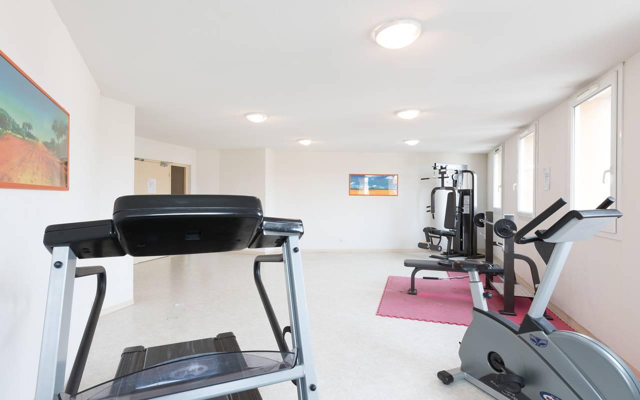 salle fitness résidence location moyen séjour Clermont Ferrand