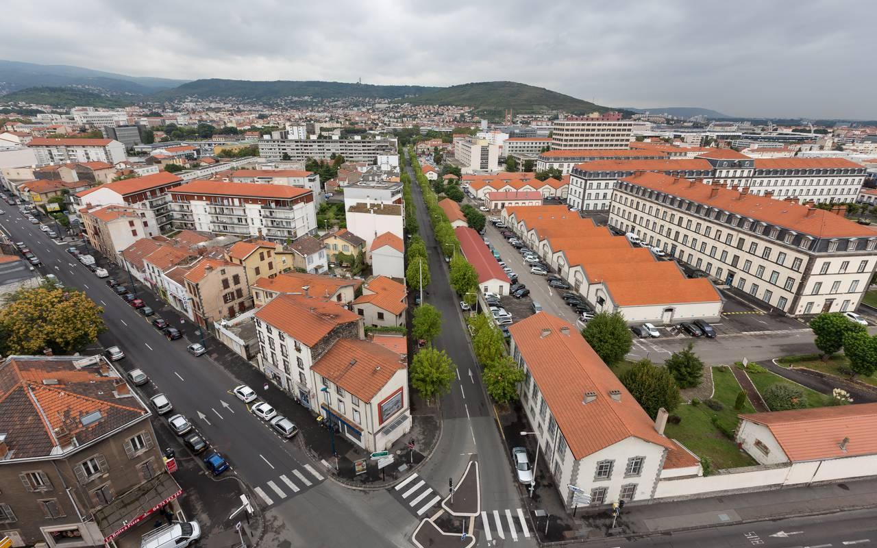 vue depuis résidence location court séjour à Clermont Ferrand