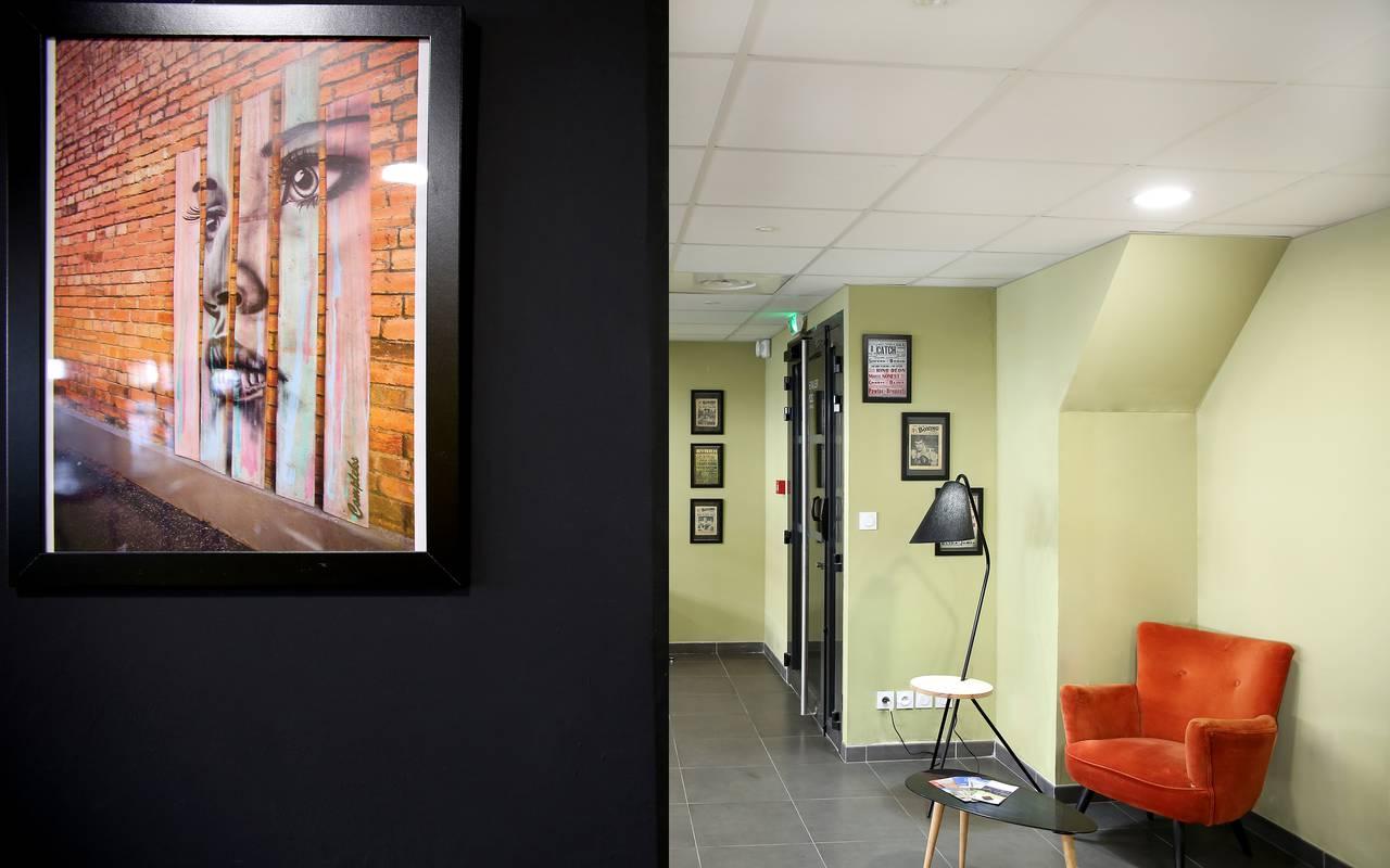 salle détente résidence location moyen séjour à Marseille