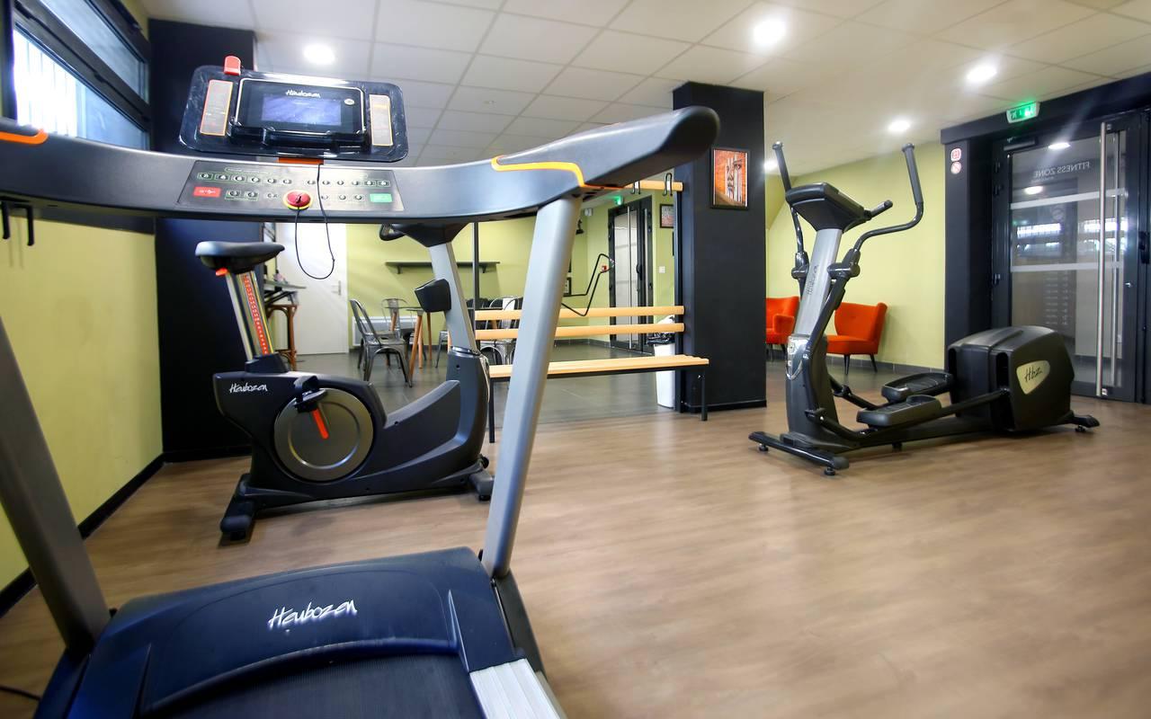 salle fitness résidence location court séjour à Marseille