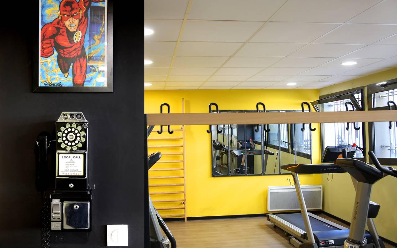 salle fitness résidence location saisonnière à Marseille