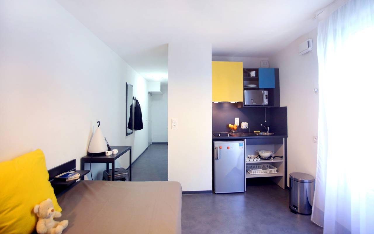 studio location moyen séjour à Marseille