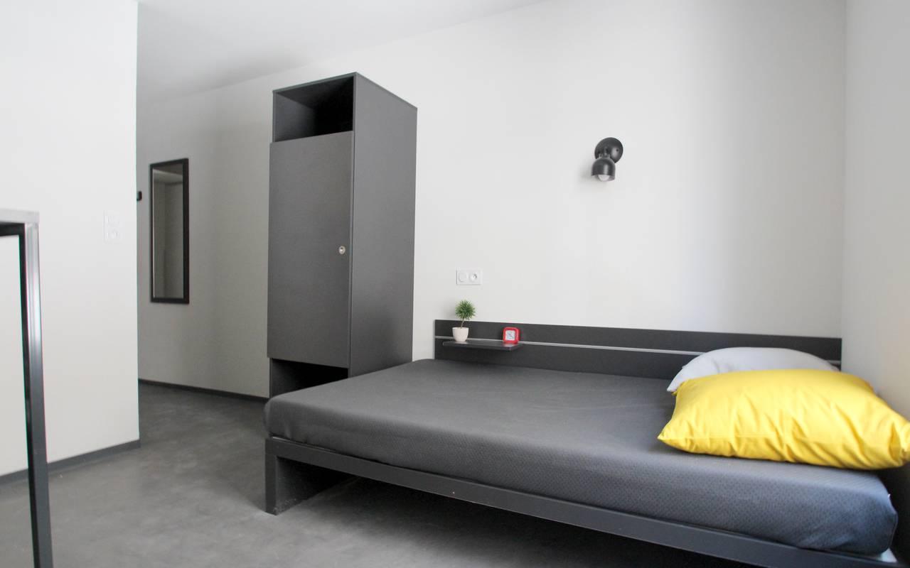 lit studio location court séjour à Marseille