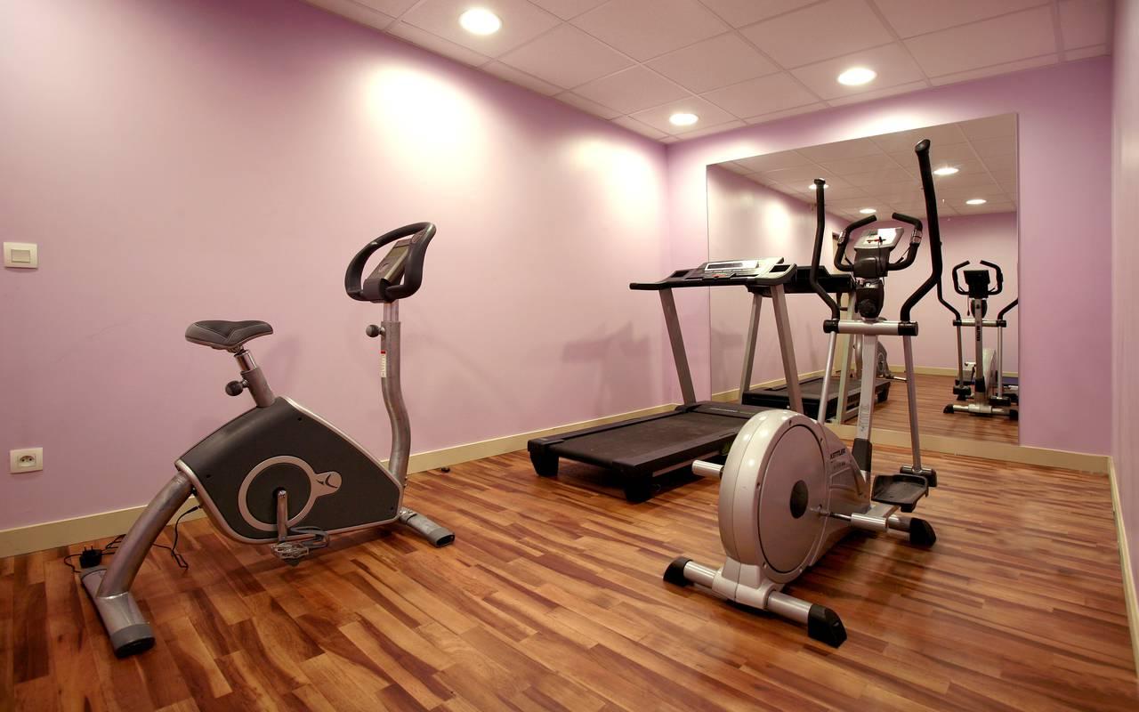 salle fitness résidence location moyen séjour à Montpellier