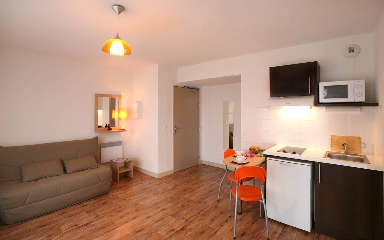 studio location moyen séjour à Montpellier