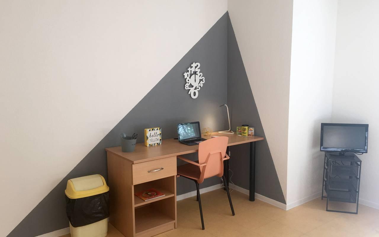 coin bureau appartement location moyen séjour à Montpellier