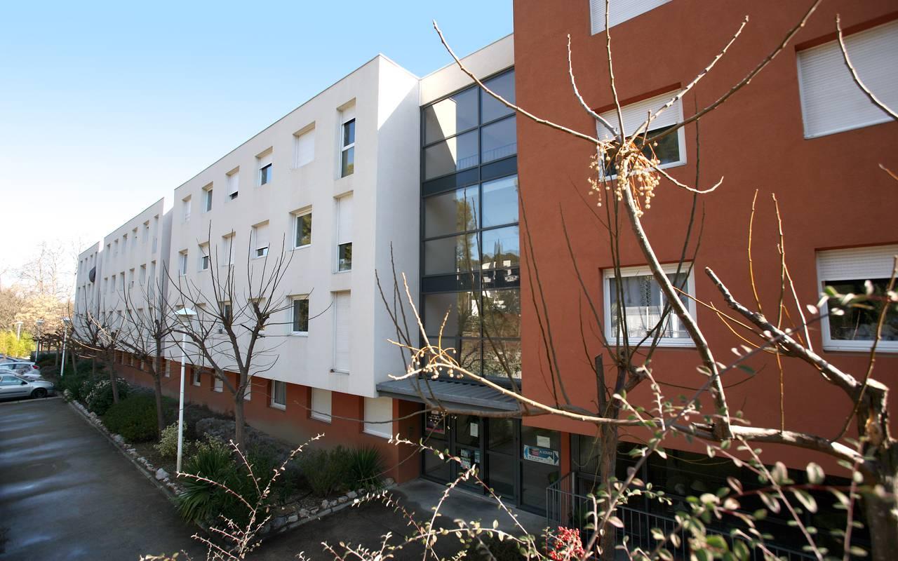 extérieur résidence location saisonnière à Montpellier