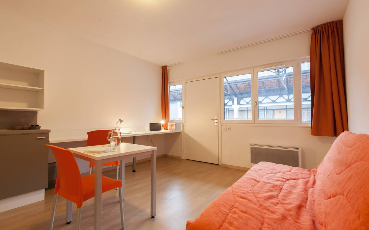 studio location moyen séjour à Lyon
