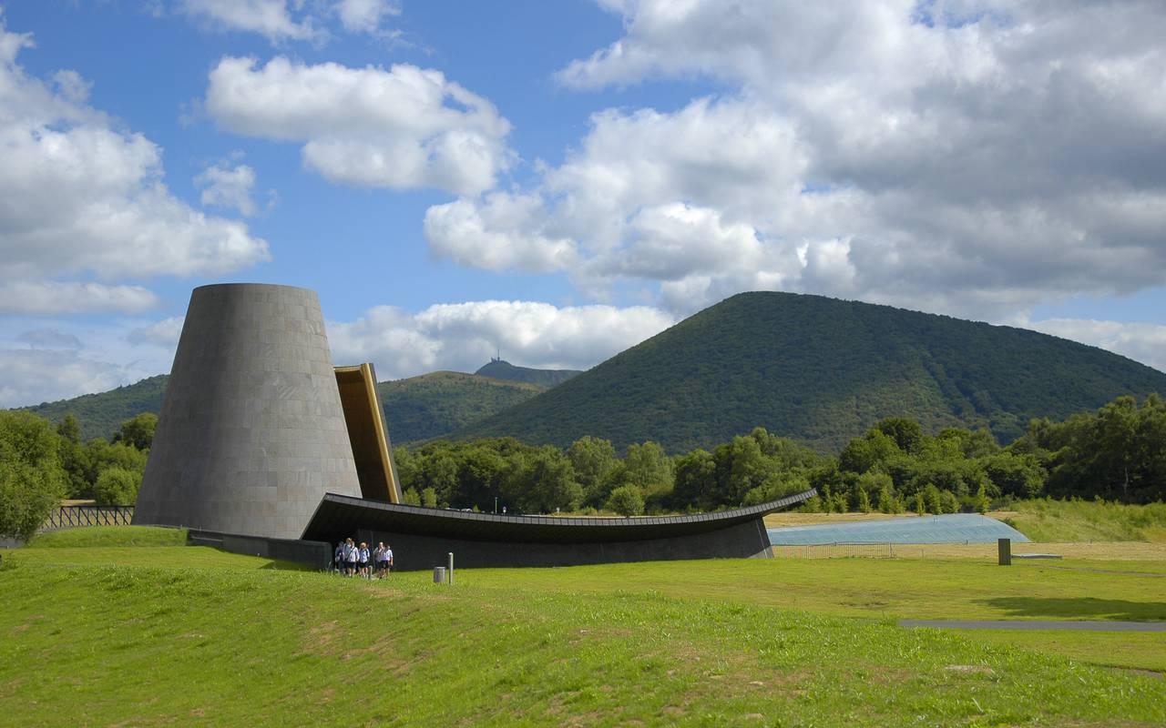 Vulcania près de Clermont Ferrand