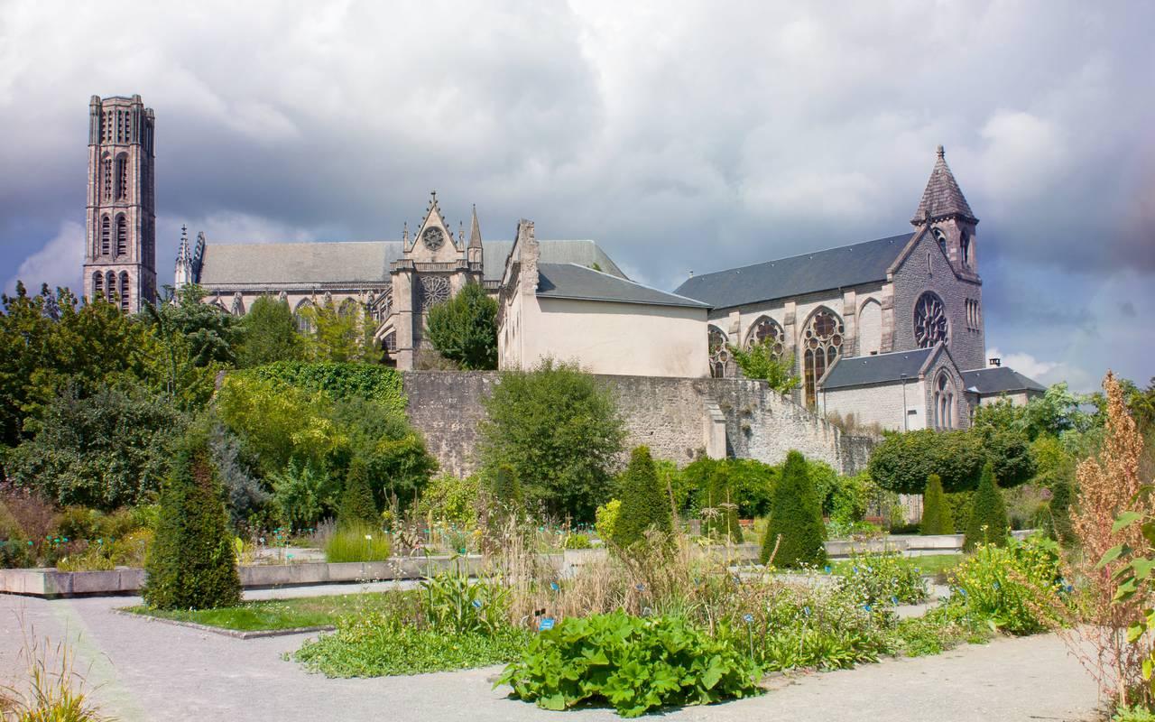 Jardin de l'Eveche Limoges