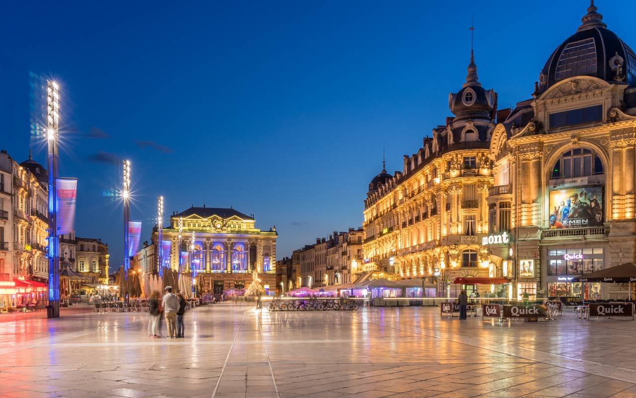 Centre historique de Montpellier