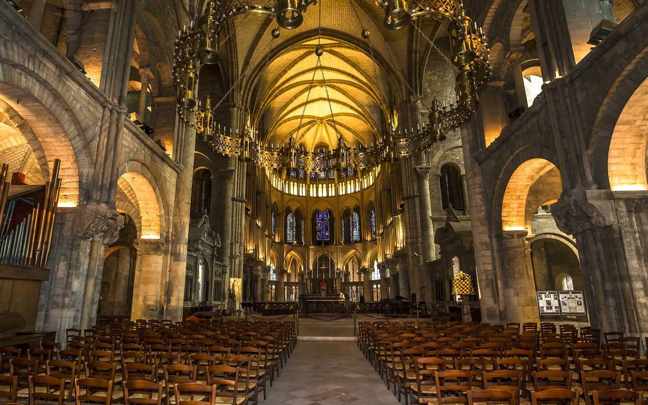 Cathédrale basilique Saint Rémi à Reims