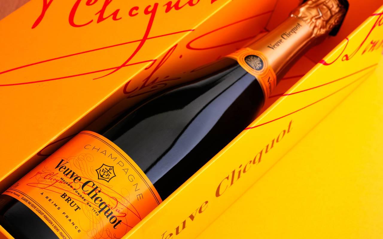 Champagne Veuve Clicquot de Reims