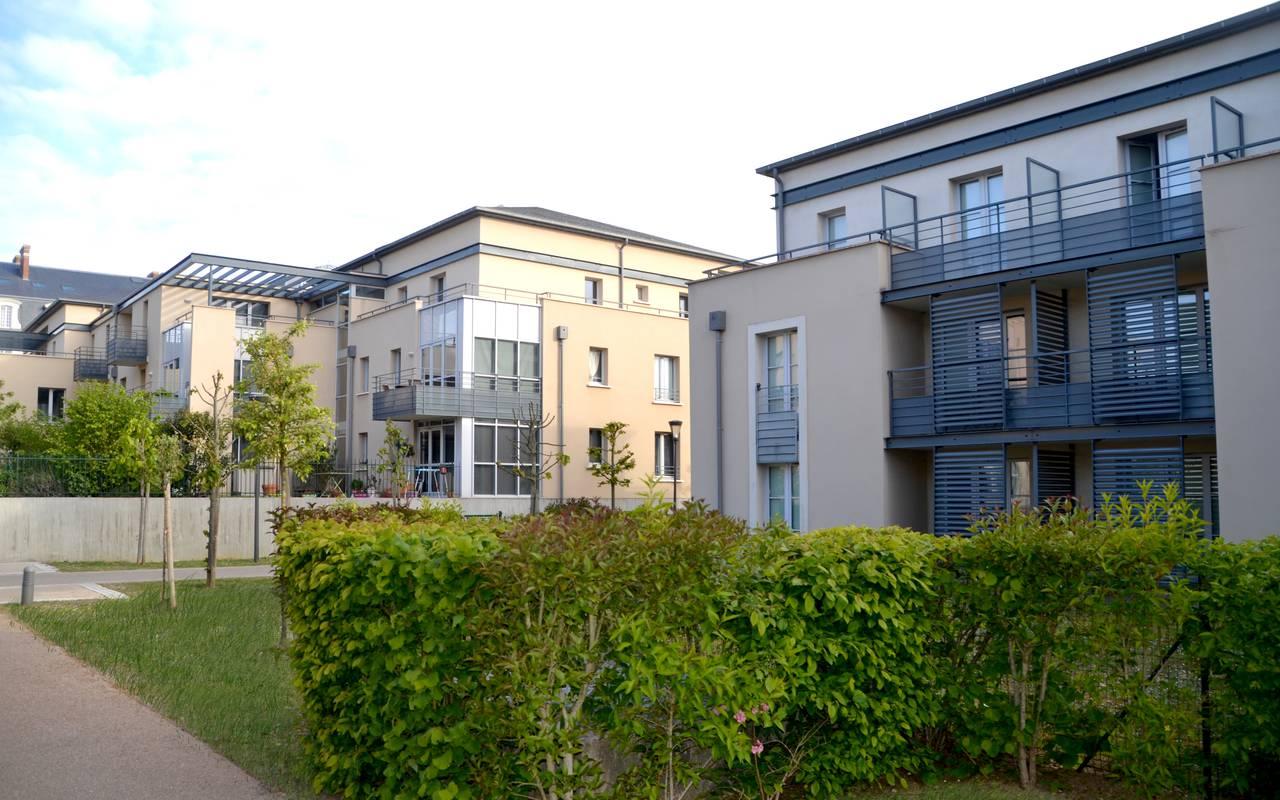 extérieur résidence location moyen séjour à Blois