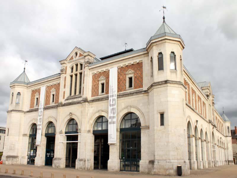 La halle aux grains à Blois