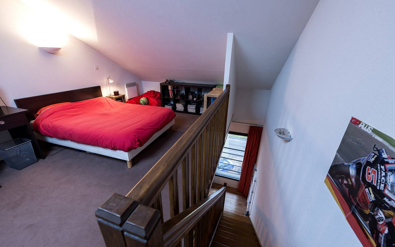 chambre mezzanine appartement location moyen séjour à Nevers