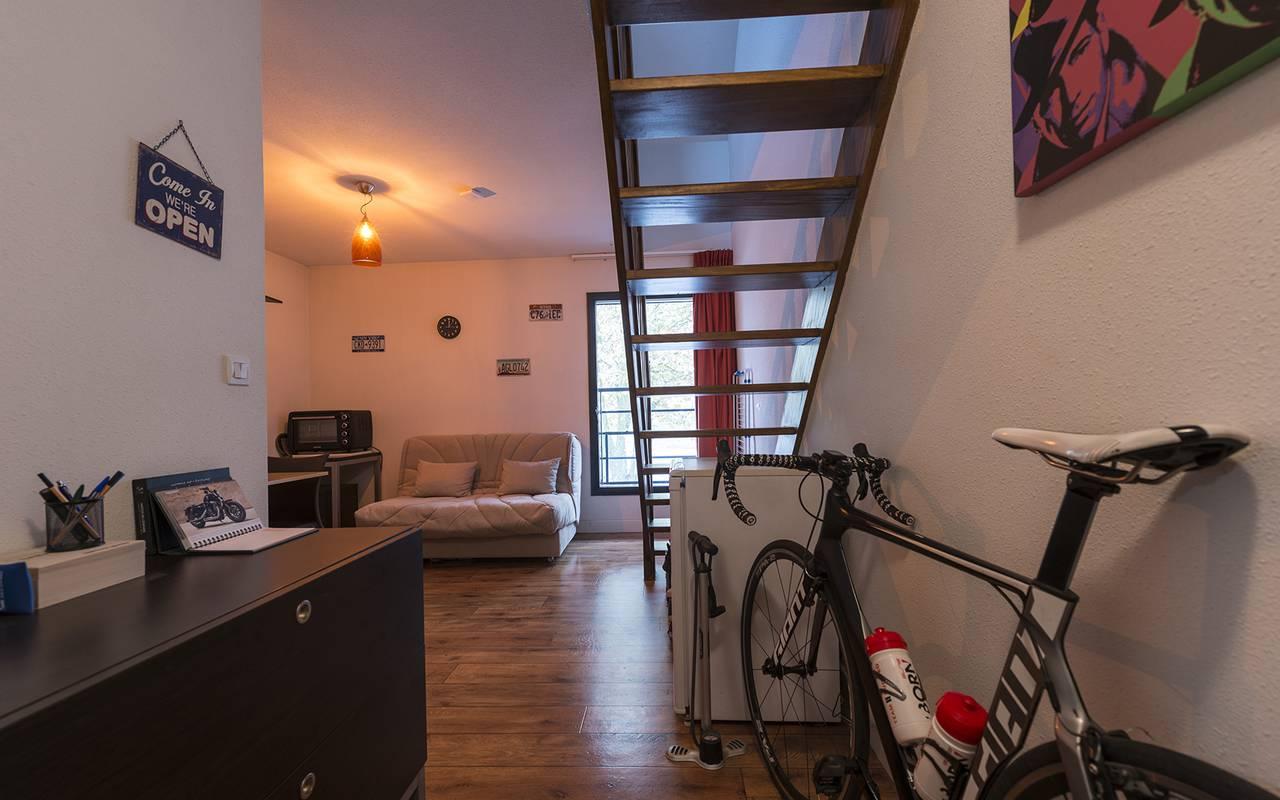 appartement 2 pièces avec mezzanine location court séjour à Nevers