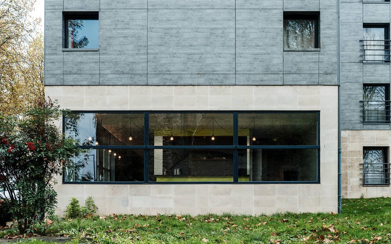 façade résidence location moyen séjour à Nevers