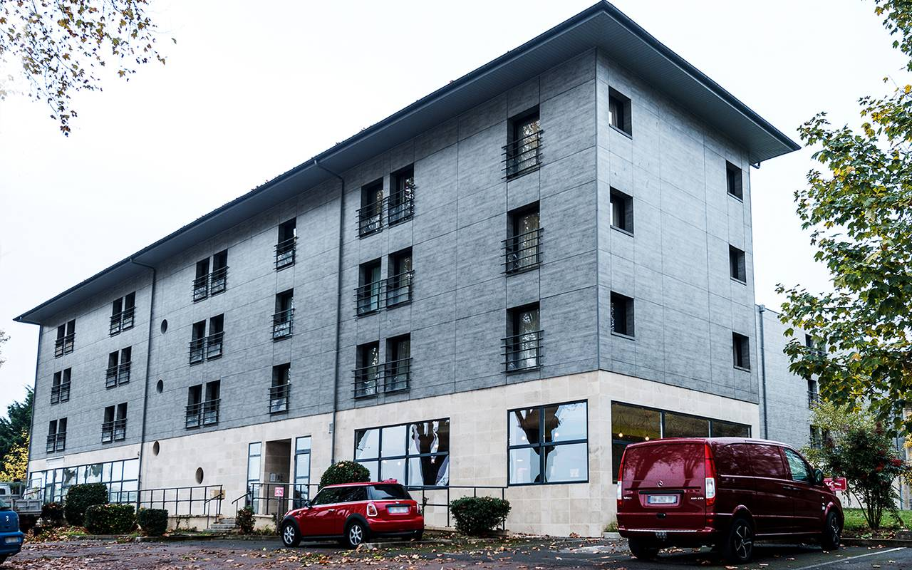 façade résidence location séjour à Nevers