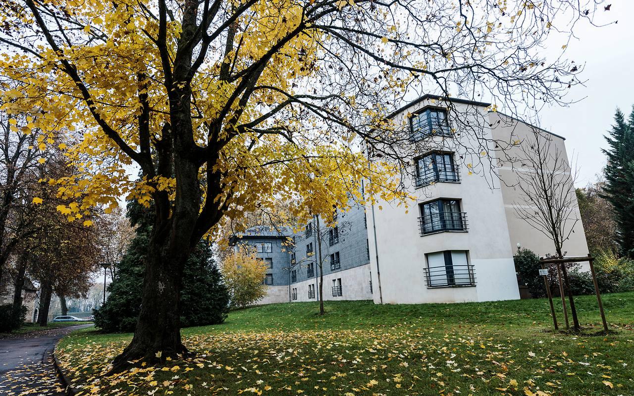 extérieur résidence location saisonnière à Nevers