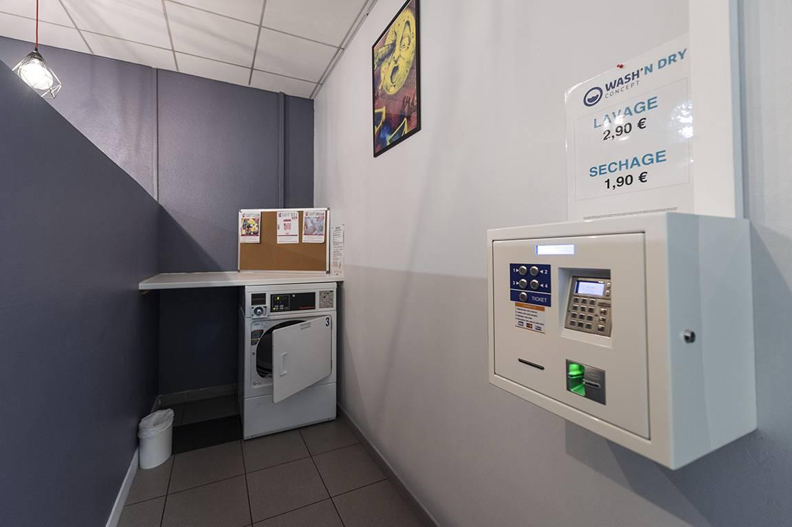 laverie location moyen séjour à Lyon