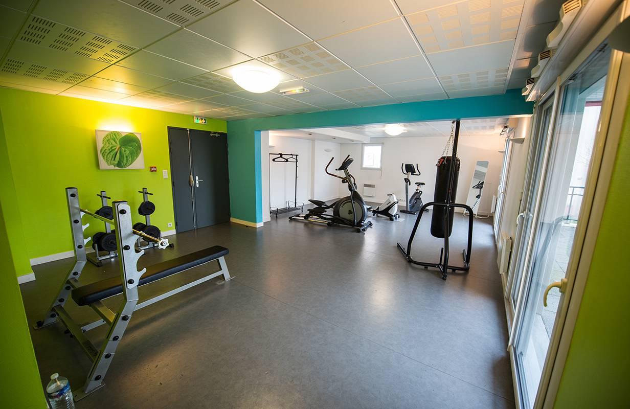 salle de fitness location court séjour à Nantes