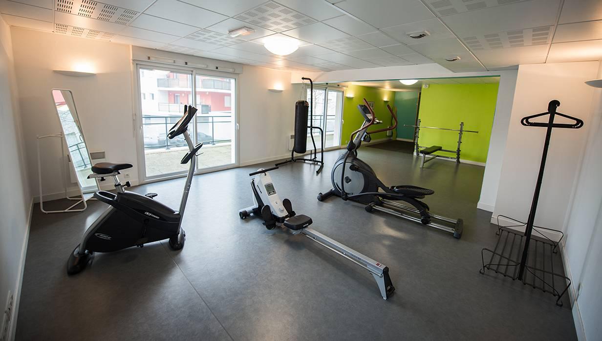 salle de fitness location moyen séjour à Nantes
