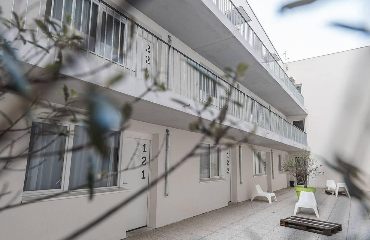 patio location séjour à La Rochelle