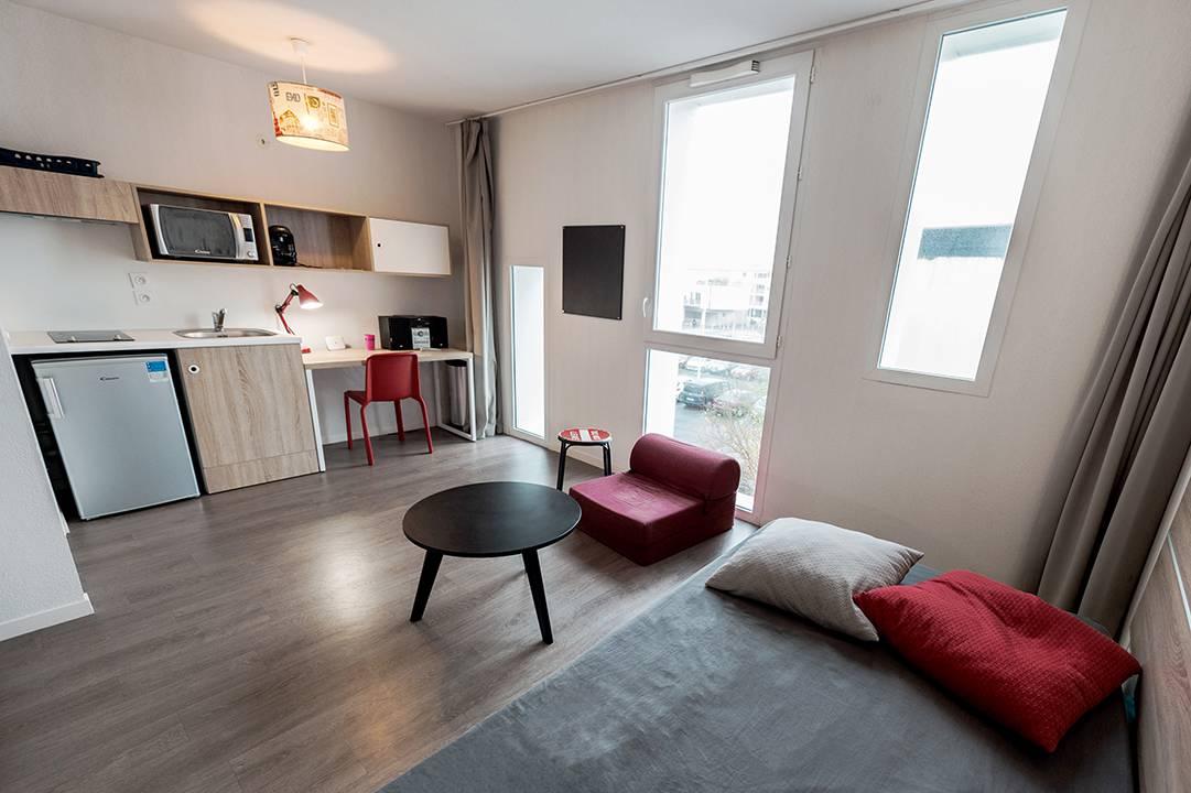 studio location moyen séjour à La Rochelle