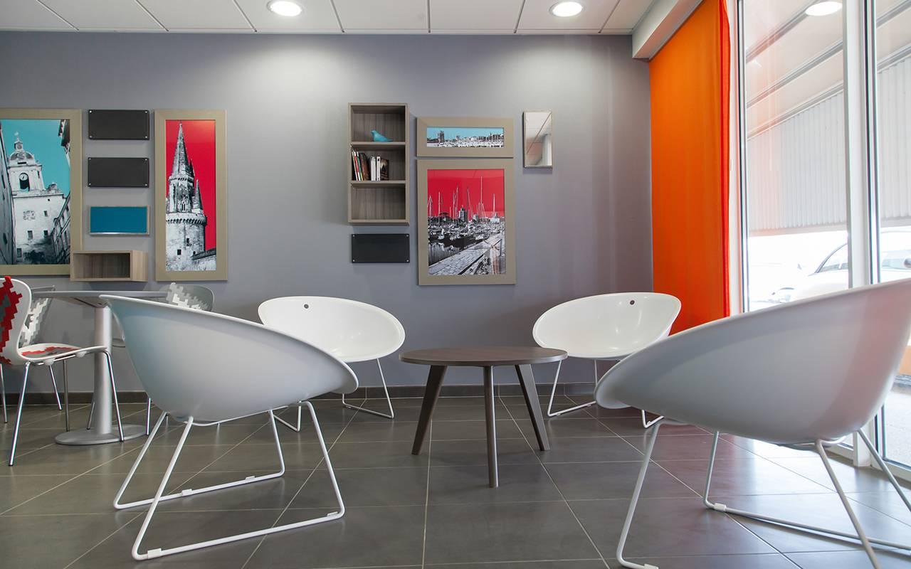 salle de détente résidence location moyen séjour à La Rochelle