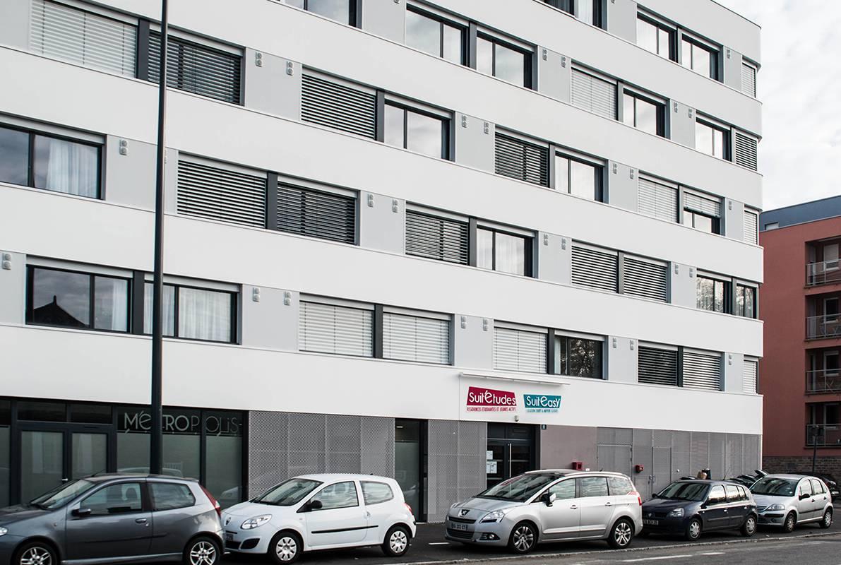 extérieur résidence location séjour à Rennes