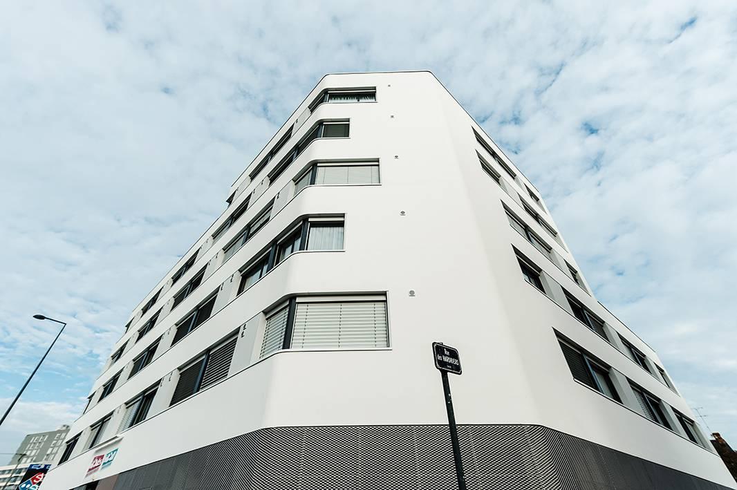 façade résidence location séjour à Rennes