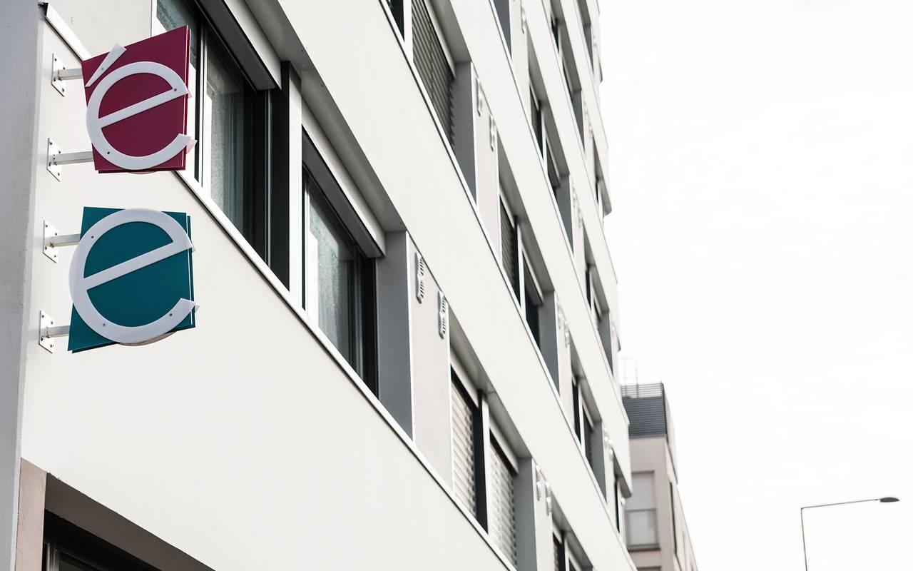 façade résidence location saisonnière à Rennes