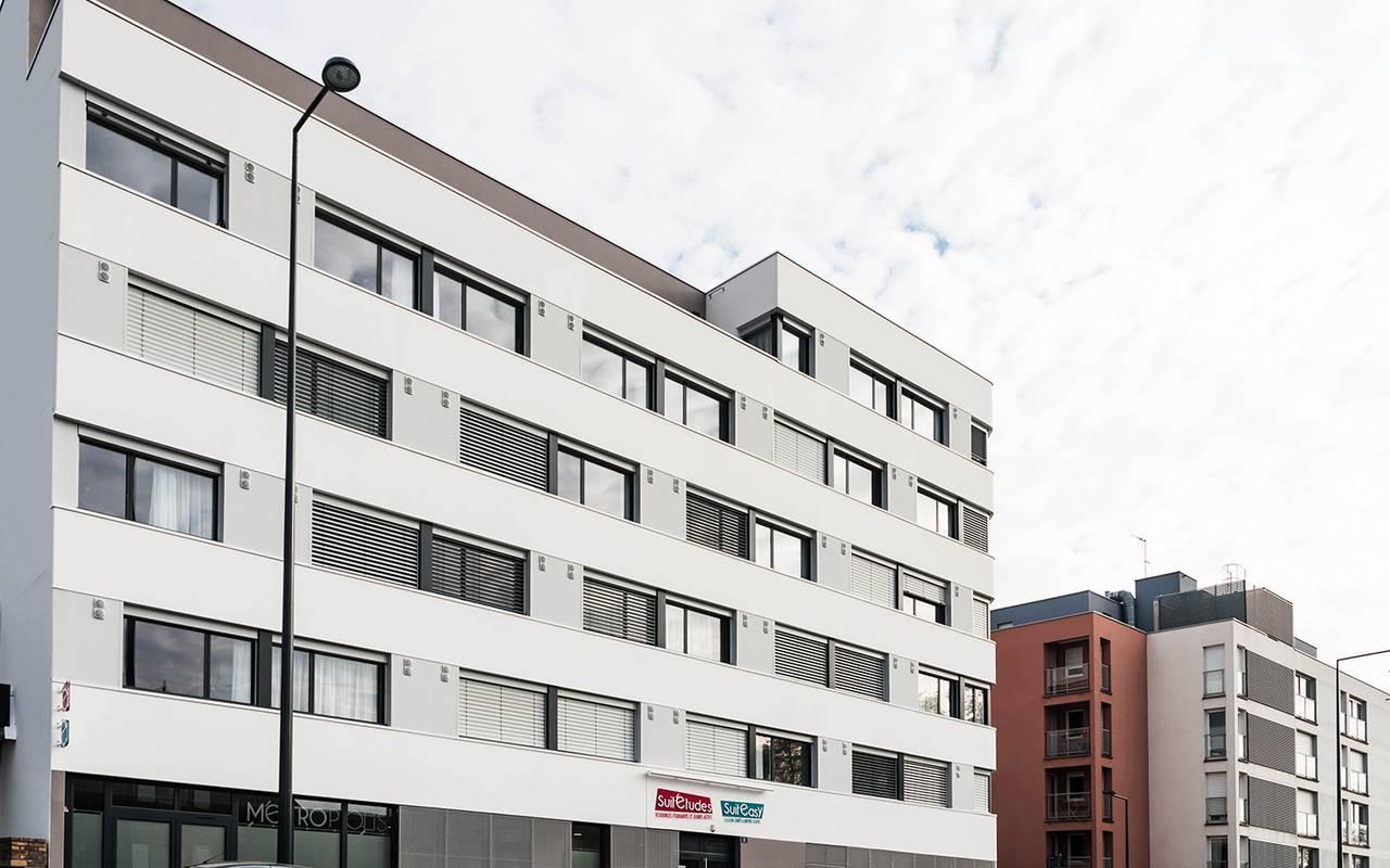 façade résidence location court séjour à Rennes